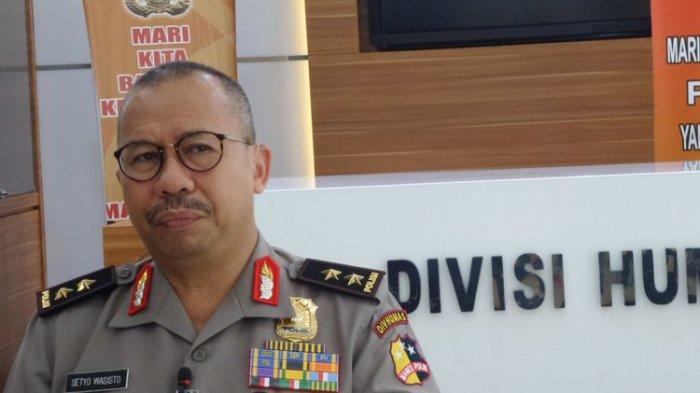 Kadiv Humas Polri Inspektur Jenderal Polisi Setyo Wasisto