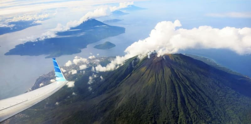 Gunung Gamalama, Maluku Utara